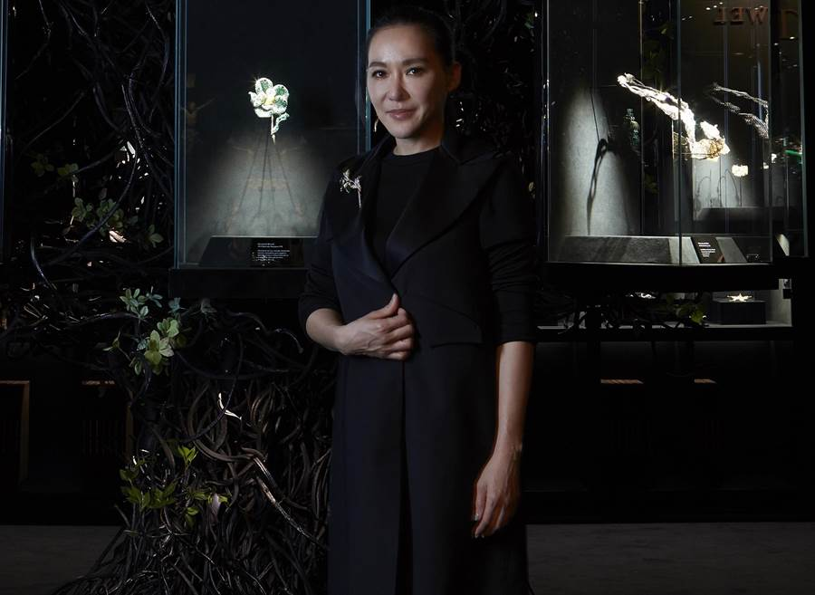 趙心綺CINDY CHAO登上荷蘭TEFA歐洲藝術博覽會,珠寶作品晉身藝術層次。(CINDY CHAO提供)