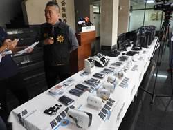 影》強力掃蕩詐欺機房藏身一中商圈 逮捕15人