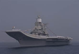 印度航母威懾巴基斯坦 美媒:別怕!那是紙老虎