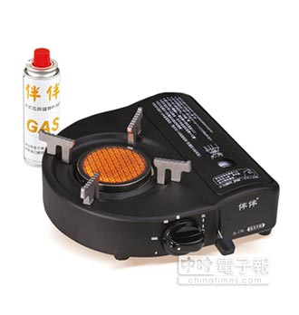 歐王遠紅外線卡式爐 安全有保障