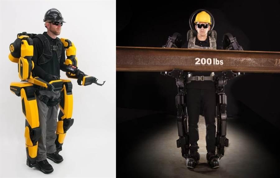 薩科斯機器人公司所製作的守護者XO動力外骨骼,將是建造工程的新幫手。(Sarcos Robotics)