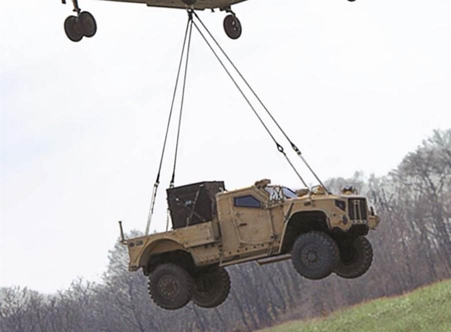 JLTV是未來美軍的陸上運輸主力。(圖/美國陸軍)