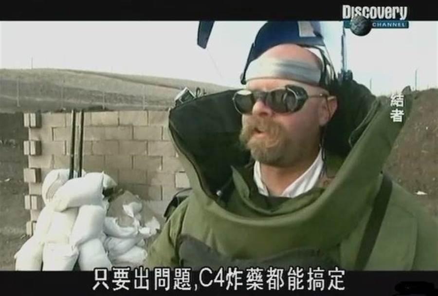 科學節目流言終結者在驗證流言後,喜歡用C-4炸藥做最後的總結。(圖/網路)