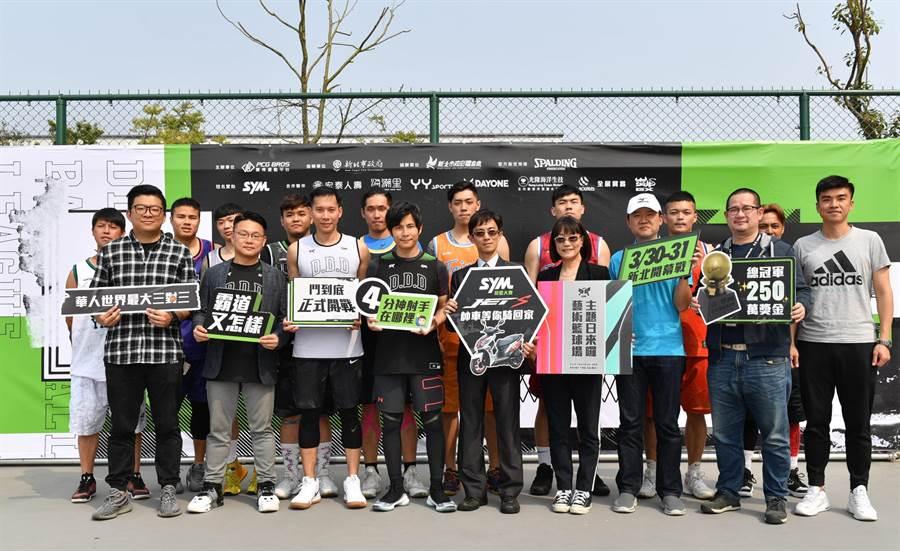 第2屆「SYM鬥到底城市爭霸賽」首場賽事於3月30日正式舉行。(圖片提供/寶悍運動)