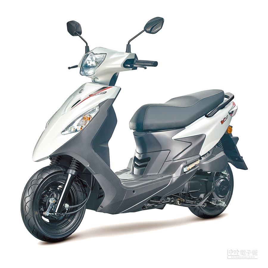 SYM活力125汰舊換新驚喜價,最低4萬5200元(鼓煞)。(SYM提供)
