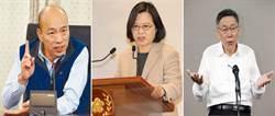 智庫最新民調:2020蔡賴配 竟大勝韓、柯?