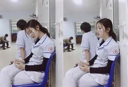 越南甜美護士打盹照爆紅!超高顏值網瘋揪團打針