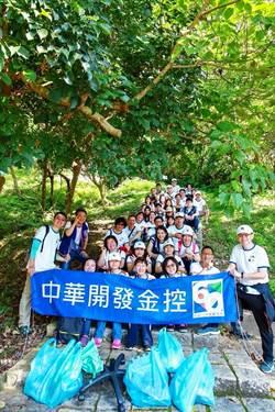 歡慶開發金控60年 凱基證千名員工登山做環保