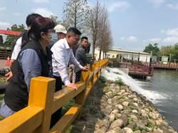低漥區多 虎尾公所操作演練移動抽水機