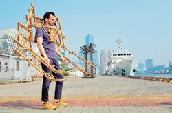 法藝術家 打造哪吒竹鎧甲