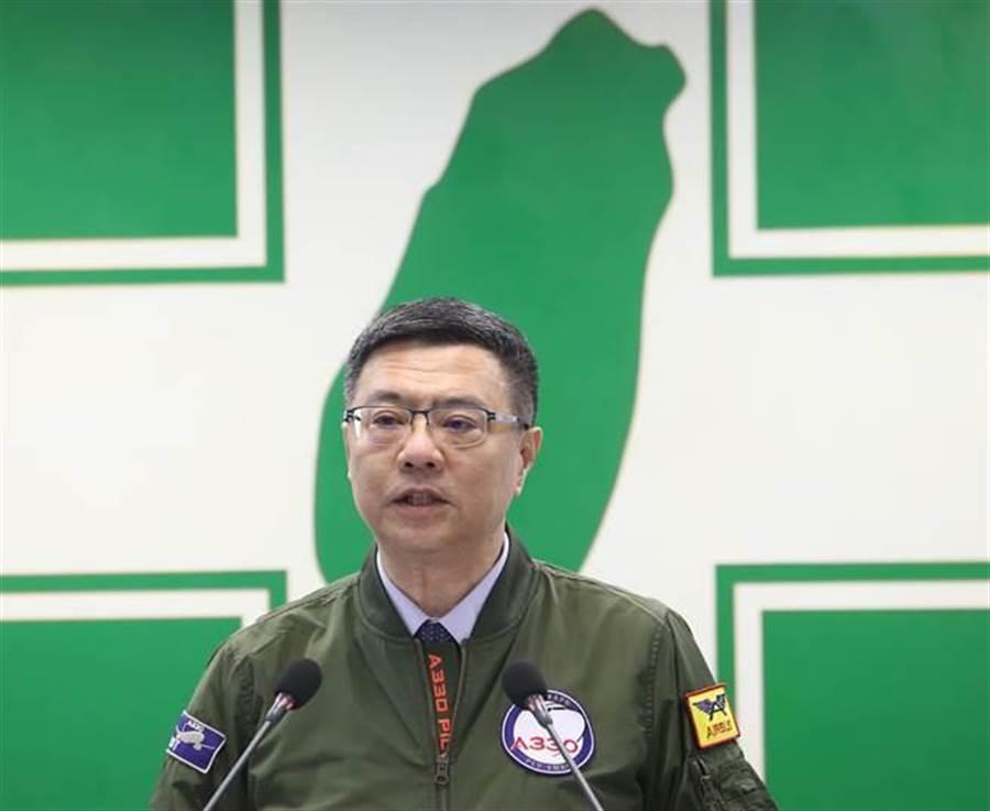 黨主席卓榮泰昨向黨內同志說重話,可以心有所屬,但不宜過度表態,希望同志集體的動作「到此為止」。(資料照,陳怡誠攝)