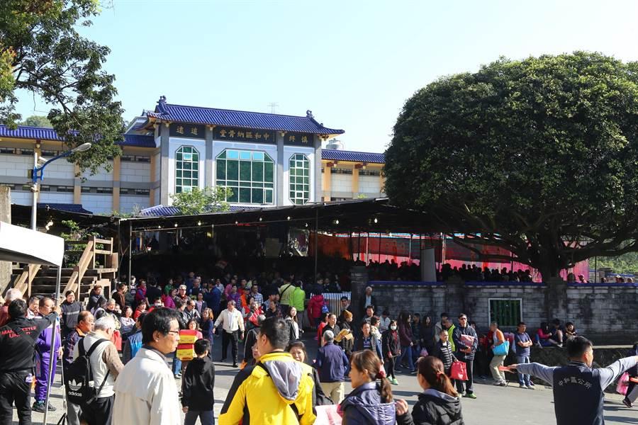 新北市中和區2019年納骨堂春祭大典,將於3月23日上午8時在中和納骨堂舉行。(葉書宏翻攝)