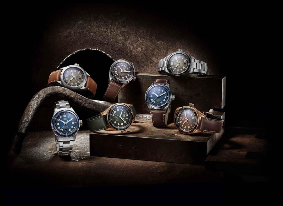 泰格豪雅Autavia腕表,領先業界搶先採用碳纖維游絲的新技術。(TAG Heuer提供)