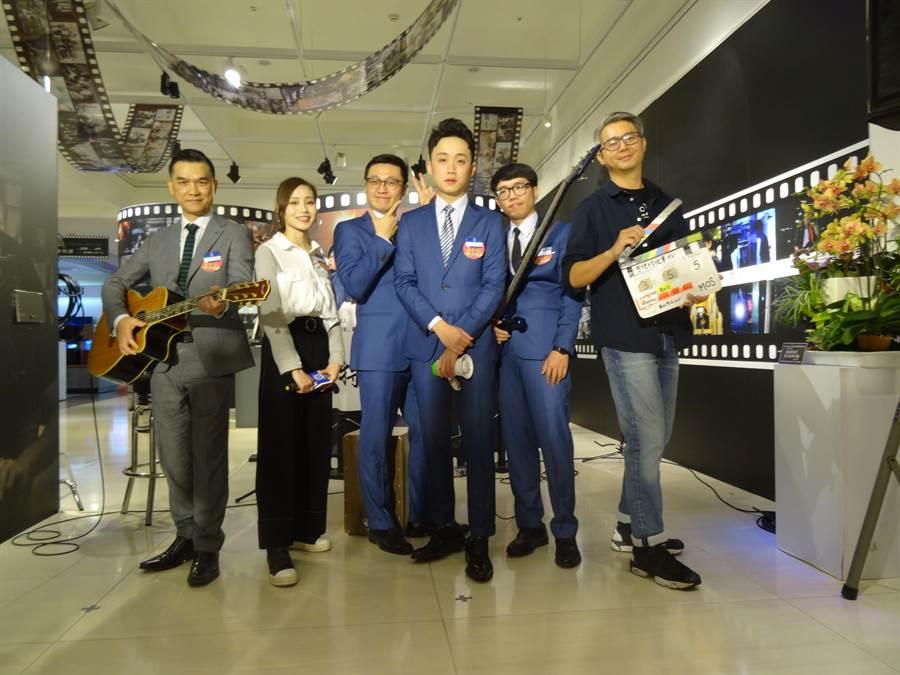 中友百貨推出一支「夢想特快車」MV,由5位身懷音樂才藝的員工串連出百貨職人勇敢追夢的故事。(馮惠宜攝)
