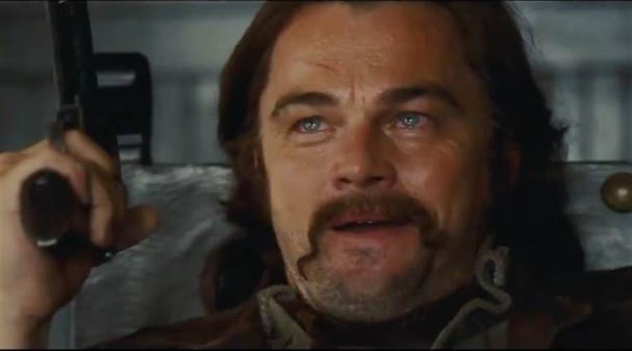 李奧納多狄卡皮歐飾演電視明星瑞克達爾頓。(翻攝自網路)