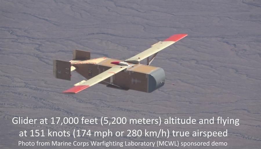 LG-1K無人機,就是個簡單的木造滑翔機,可攜帶700磅的物資。(圖/Logistic Gliders)