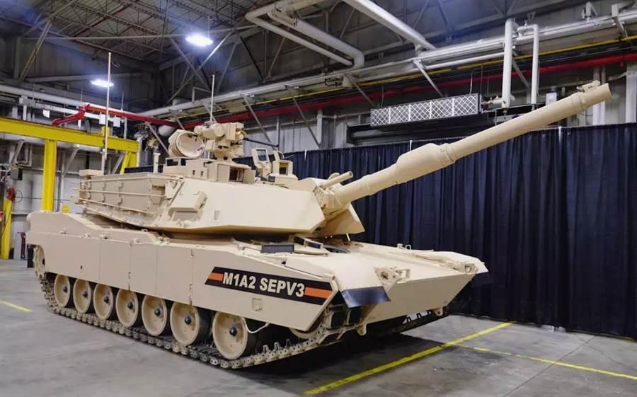 M1A2SEPV3也稱M1A2C,是M1戰車的最新改良。(圖/General Dynamics)