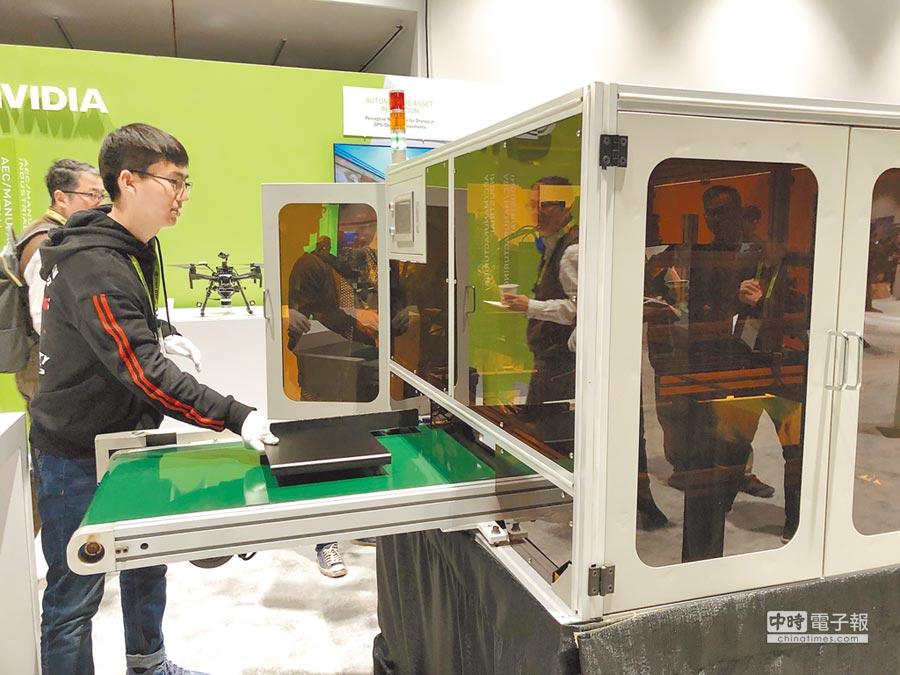 3台灣經濟可望好轉。圖為全自動化光學檢測生產線。(本報系資料照片)