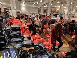 好市多名牌鞋讓人跪了 消費者撲鞋堆瘋搶