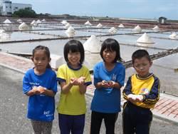 台南小學生學製鹽 驚呼「鹽」來如此