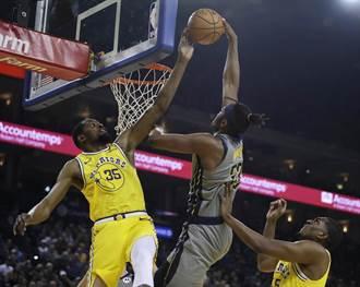 NBA》勇士五星發威 狂宰溜馬續居西區龍頭