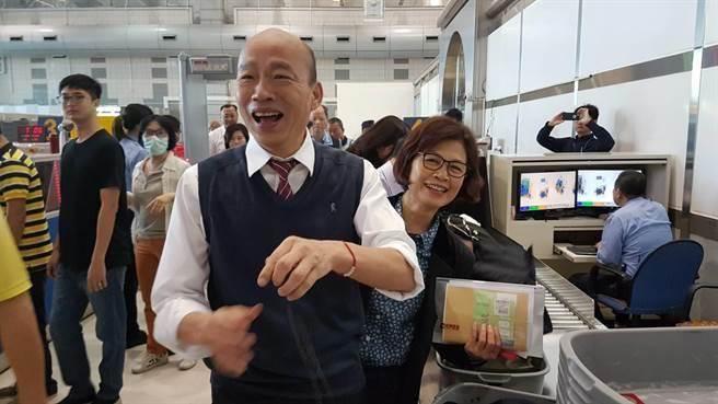 高雄發大財!韓國瑜「經濟之旅」啟程訪陸拚訂單