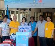 醫療走出去!新光醫院為帛琉打造複合式手術室