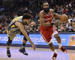 NBA》哈登強勢搶回官方MVP榜首 柯瑞第3