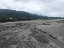 花蓮河川疏濬防洪作業啟動 開挖近百萬立方公尺土石