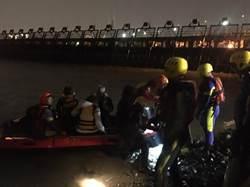 家族淡水河遊艇趴遇擱淺 消防隊救援36人安全上岸