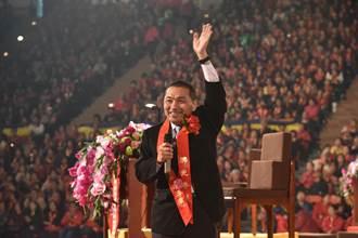 侯友宜參加禪淨祈福法會 祈求台灣平安