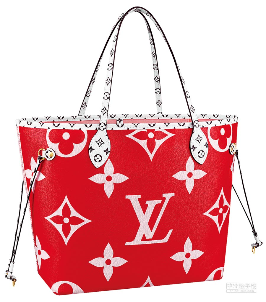 LV Neverfull MM Monogram包款(大),5萬8500元。(LV提供)