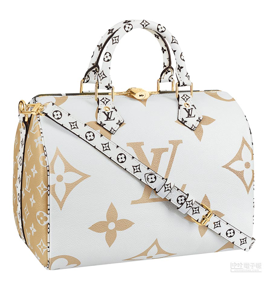 LV Speedy Bandouliere in Monogram帆布包,6萬5000元。(LV提供)
