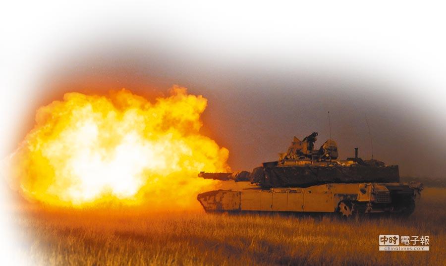 M1A2坦克。(取自美國陸軍官網)