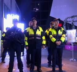 中市警實施密集式威力掃蕩臨檢 加強執法強度