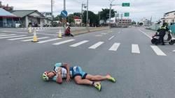鐵人三項國際賽 台灣鐵人一哥遭機車擦撞