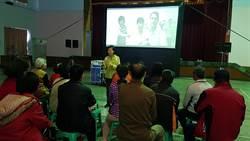 葉宜津請民眾看電影爭取連任 選區感恩活動開跑