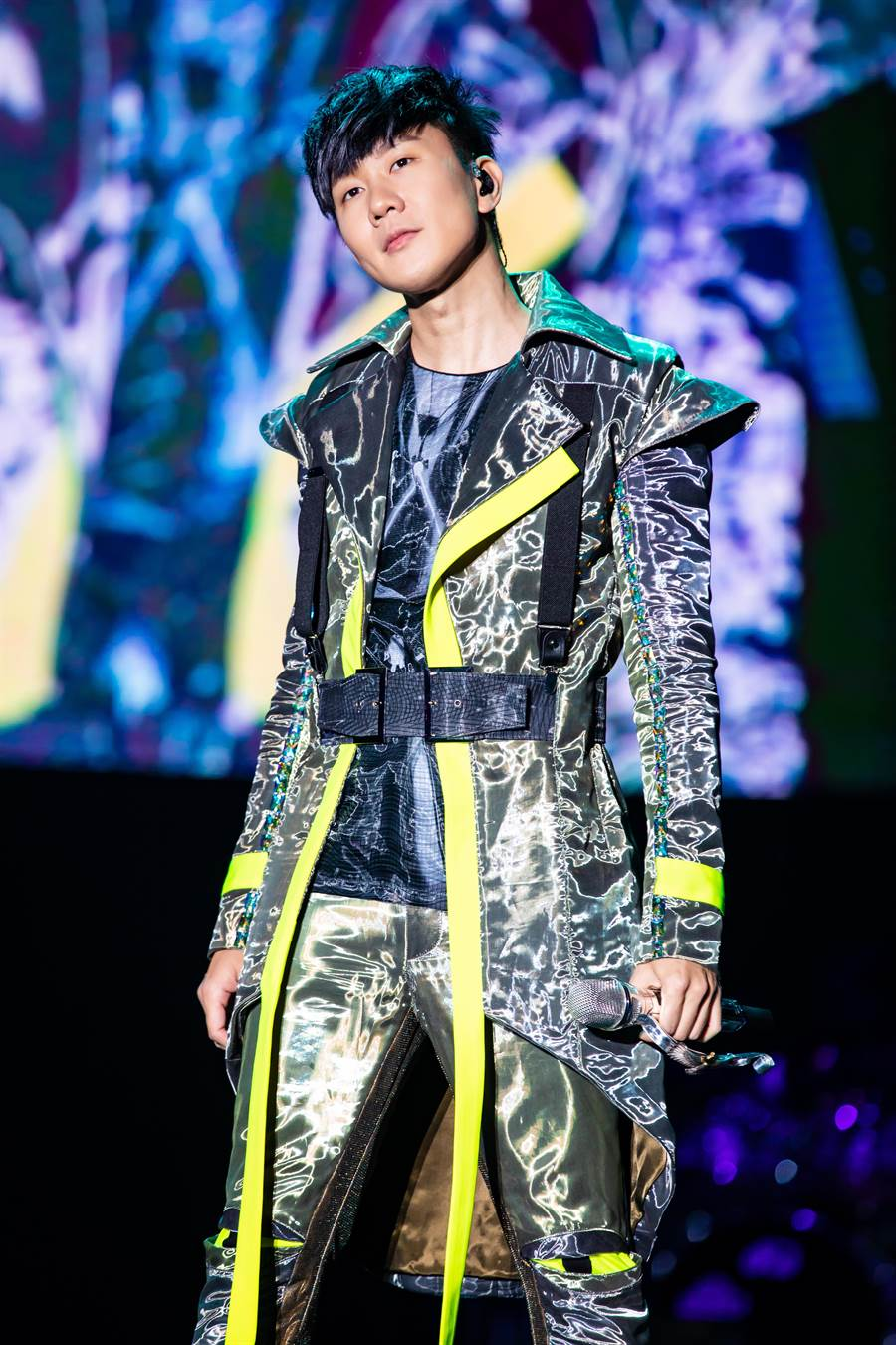 林俊傑全新戶外巡演昨從杭州起跑。(JFJ Productions提供)