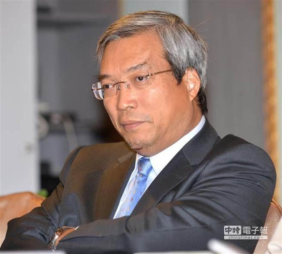 財信傳媒董事長謝金河。(資料照片,顏謙隆攝)