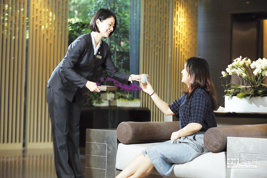 堅持品質、提供最有感的台式服務,是北投麗禧獲得觀光客肯定的原因。圖/業者提供