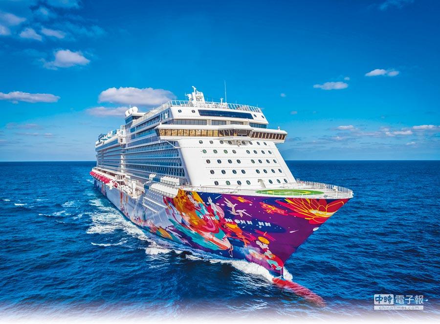星夢郵輪旗下「世界夢號」專為亞洲高端旅客打造,今年7月將首度來台展開價格實惠的Fly Cruise香港假期。(雄獅旅遊提供)