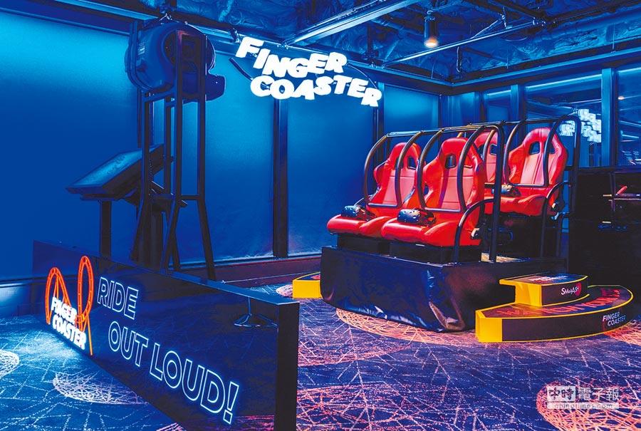 「世界夢號」擁號稱全球郵輪上規模最大的「VR探索館」遊戲中心。(雄獅旅遊提供)