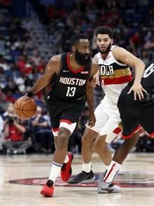 NBA》哈登三節28分打卡 火箭連續7年進季後賽