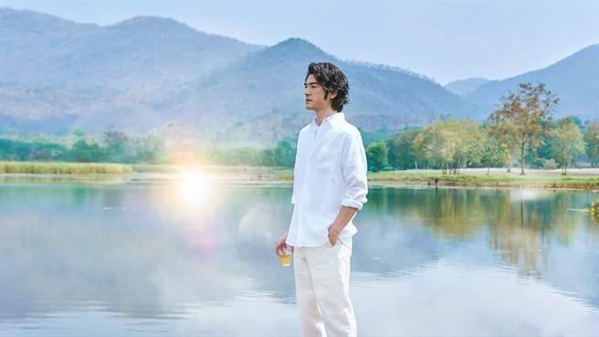 金城武為代言御茶園赴泰國拍攝廣告。(福隆經紀公司提供)