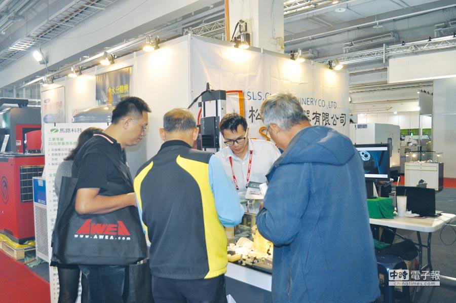 臺南自動化機械暨智慧製造展已成南臺灣每年最受關注的專業展,也是各產業了解新款工具機與產業機械的最佳管道。圖/郭文正