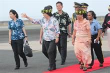 蔡總統與媒體茶敘  談南太訪問收獲