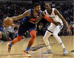NBA》雷霆不敵灰熊 西區排名跌至第八