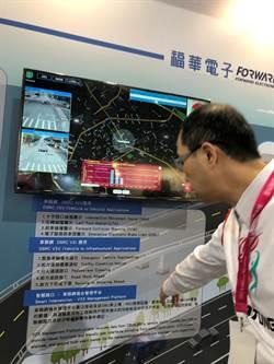 大同集團展示自駕車模擬平台系統