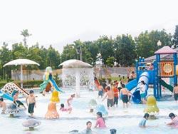 烏山頭水庫親水公園 清明連假兒童免費玩