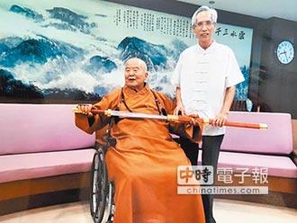 陳世聰首創鈦合金寶劍 在台南首展